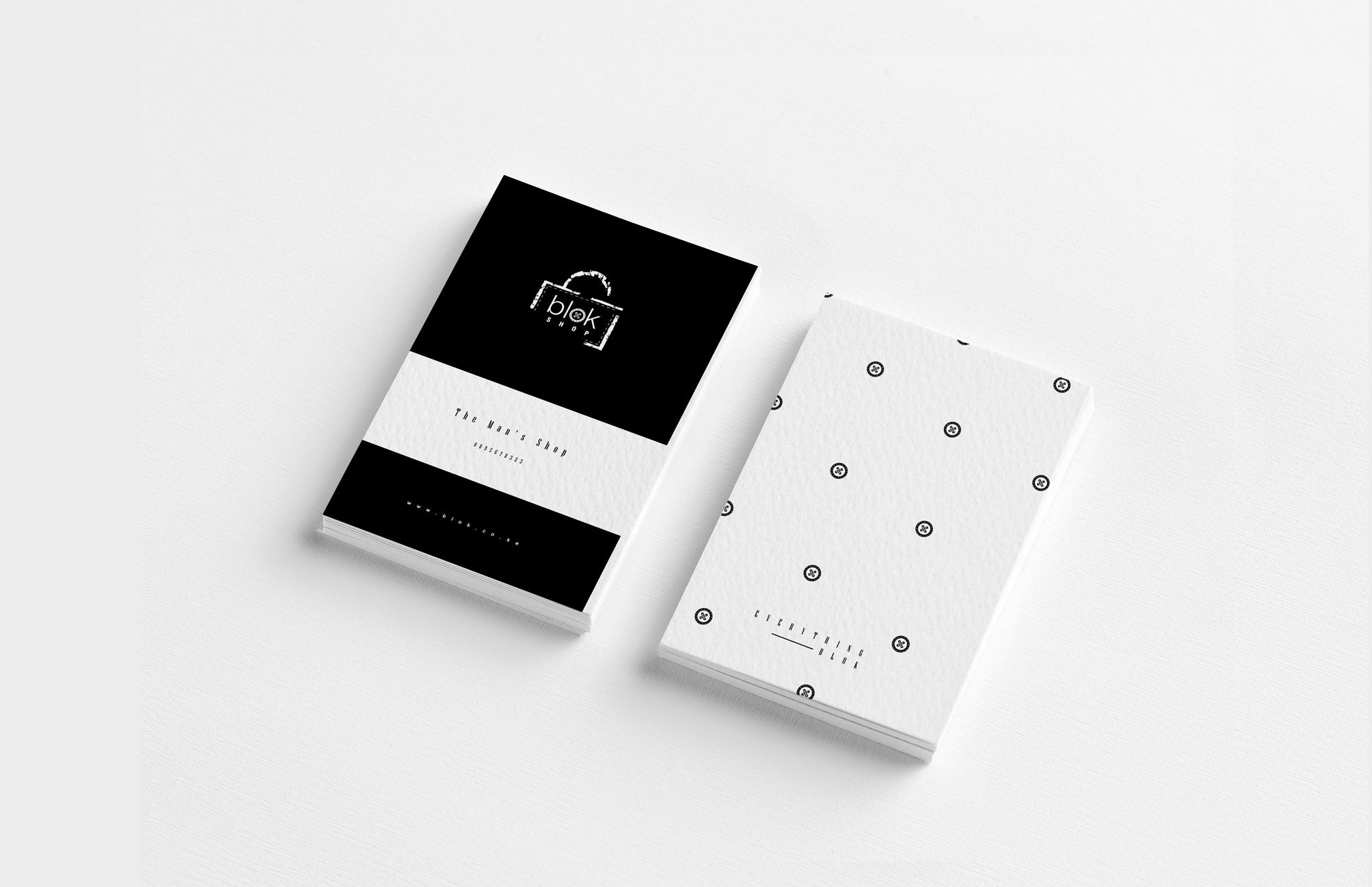 Blok Shop Product Branding